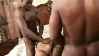 cherokee d ass threesome with two white guys riding dick
