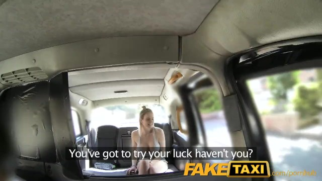 FakeTaxi Cabby tries his Beginners Luck on Hot Blonde with Big ...