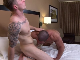 Active Duty Brad's First Anal EVER By Markie More! No Less!