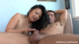 Asian MILF Lucky Starr loves to get fucked