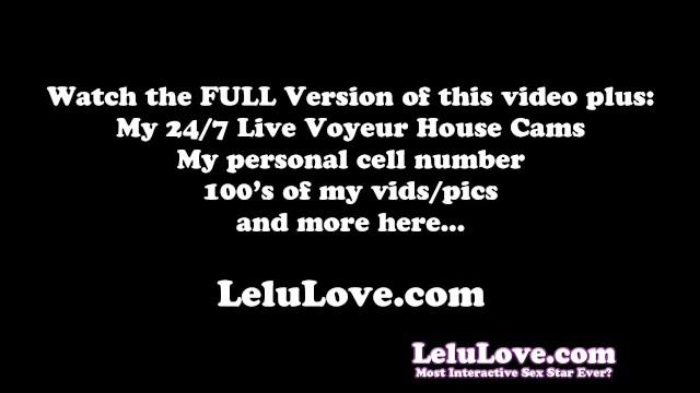 Lelu Love Virtual Blowjob