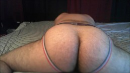 Red White and Blue JockStrap DryHump