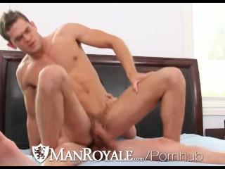 ManRoyale - Luke Milan rides bf Colby Chambers MASSIVE cock