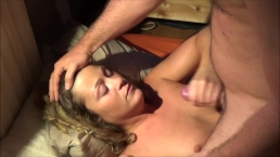Handjob for a facial reward