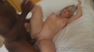 Vacation while milf stacey fucked babe on interracial blonde