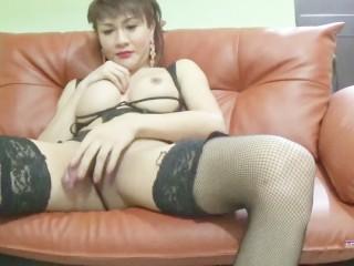 Krystal shows ass...