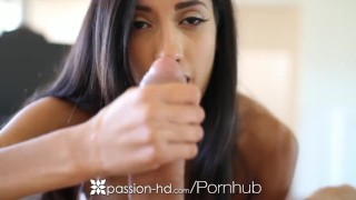 Dildo chloe plays horny with amour passionhd natural tits