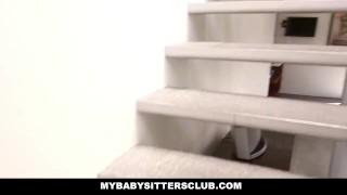 MyBabySittersClub Blonde BabySitter wants to Fuck