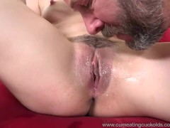 Nikki Next and Shares A Cock And Husband Eats Cum