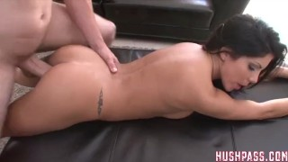 White the on eva great takes hype and struggles brunette tits