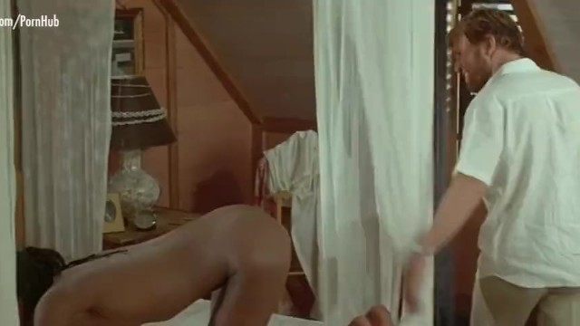 French nude cinema Sylvia kristel - nude scene from goodbye emmanuelle