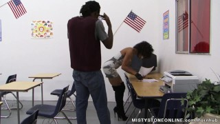 Teacher Gets A Lesson in Fucking