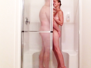 My hubby cant resist when I get naked for a shower! :-)