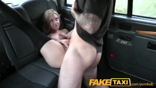 Up faketaxi blonde sexy stockings petite in pull pawg shaved