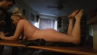 To quick daddy with work facial fuck before goes fuck slut