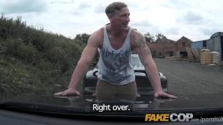 Cumshot a cop copper bullet fake king cum like shots policeman sex