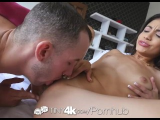 Preview 4 of Tiny4K - Hot latina Veronica Rodriguez gets her pussy fucked