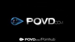 POVD - Hot Marley Brinx takes big dildo in pov