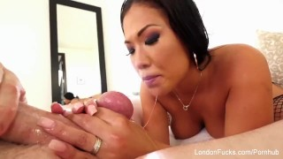 Suck sexy to keyes how cock london asian knows job spit
