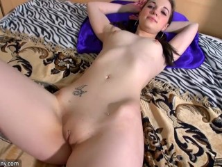 Mature with big tits masturbate with cute girl...