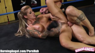 Parody arouseme burningangel ronda hardcore parody boobs