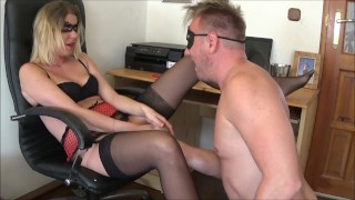 Screen Capture of Video Titled: Extremely Huge Squirting Orgasm with Smoking and Pussy Eating by Truutruu