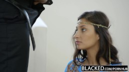BLACKED Eerste interracial voor rijke Arabische chick Jade Jantzen