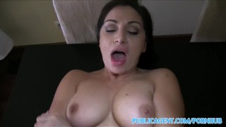 PublicAgent Horny hitchhiking babes fuck for cash part 2
