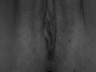 clit orgasm close up - wet pussy juice cum