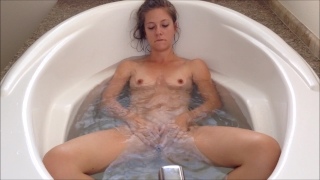 A bit of bathing, a lot of masturbating ;)