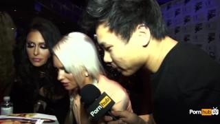 PornhubTV Emily Austin Interview At 2015 AVN Awards