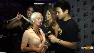 Awards avn pornhubtv interview at emily austin tits awards