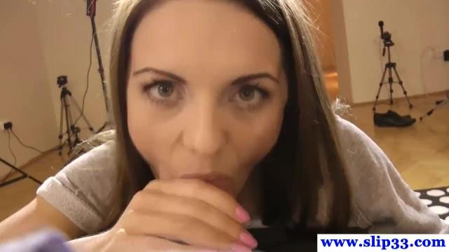 Beautiful european casting amateur fucked pov 3