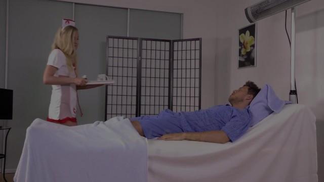 Kinky nurse covered in fresh piss 9