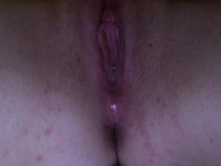 Pussy orgasm with no hands - dripping wet juice