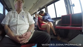 Wicked - Hot babe gets fucked on the public bus