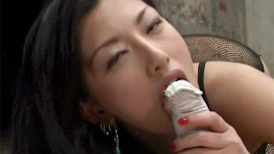 Asian Teen from dating website gets her face fucked hard and gags