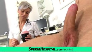 Doctor hot female beate milking milf dick young mom tits