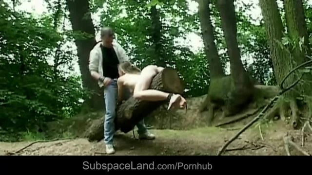 Bdsm Male Torments And Use Teen For His Forest Fantasy -9807