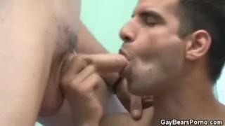 Blowjob threesome men hairy blowjobs groupsex