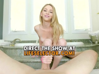 Dad fucks her young step-daughter and his client