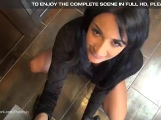 Goddess Head Ebony Porn - Sex Goddess Anissa Kate gives an Incredible POV blowjob