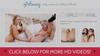 Scissoring dillion harper tricked girlsway into natural licking