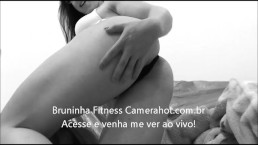 Close up on fitness brazilian ass! - Big latin booty