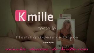 Kmille teste le Fleshlight Jessika Drake