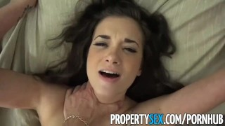 Her sexy real naughty ways propertysex buyer with estate agent seduces doggy view