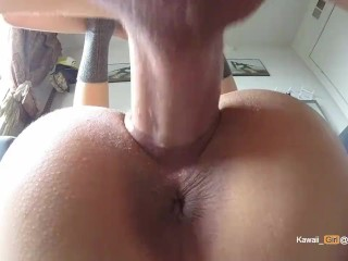 Girlfriend Works For a Thick Facial