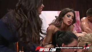 Digital part show dp star live playground  orgy bts