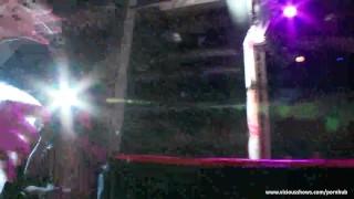 Superb slut looks so hot on the stage Hardcore fucking