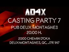 PROMO CASTING PARTY 7 - AD4X